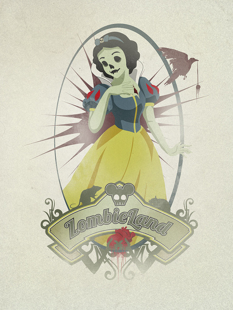 popuphorror:  Snow White by [DreiKo] on Flickr.