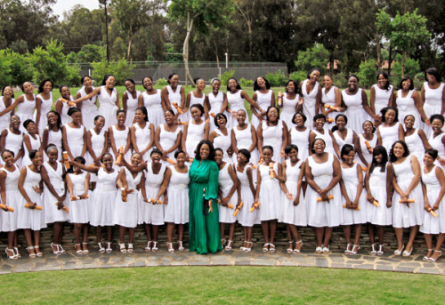 Meet the first graduates of the Oprah Winfrey Leadership Academy for Girls. Read about Oprah's dream to open a school in South Africa and view behind the scene photos from the graduation on Oprah.com.