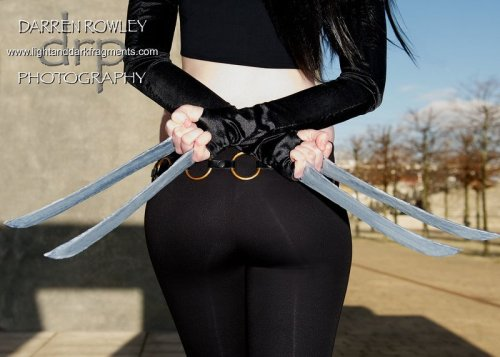 X-23: Hidden threat Character: X-23 - X-Men Costumer: Lisax Photo by: Darren Rowley
