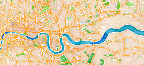 A look behind the scenes at Stamen's Watercolor Maps (via stamen design | Watercolor Process)