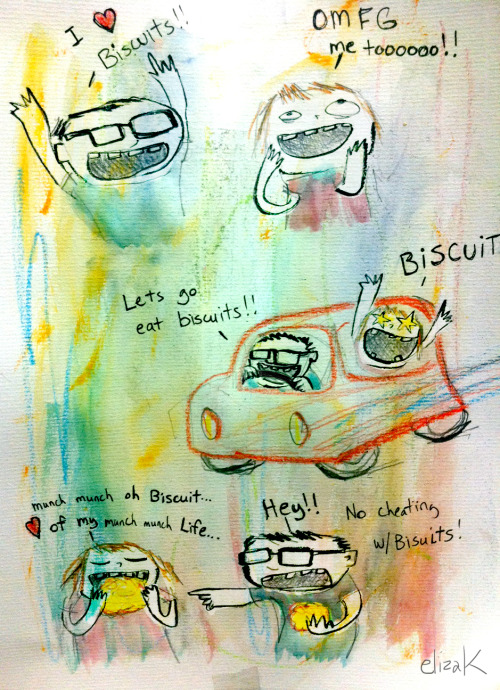 Who doesn't go crazy for biscuits! Especially when gravy is involved…….