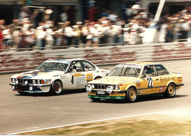 jsnpbts:  BMW - 24h Rennen Nürburgring 1988 by mendaman on Flickr.