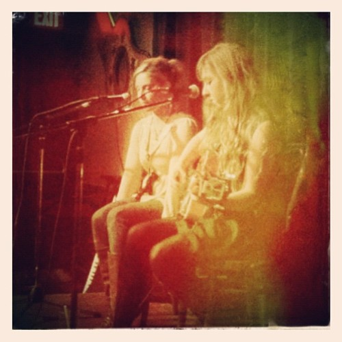 Darron's show last night! #sweetmusic (Taken with instagram)