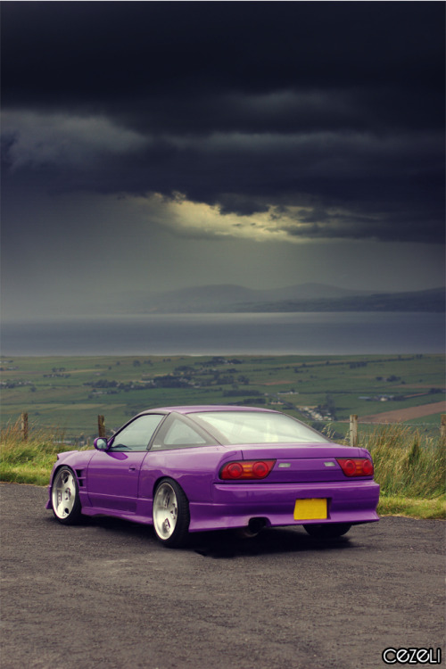 Car: Nissan 200sx Location: Co. Derry, N. Ireland Story: This 200sx is owned by Dylan Harte and he turned it from a UK spec 200 into a Kouki s13. I love the colour! Click here for the full feature on OMGdrift.com