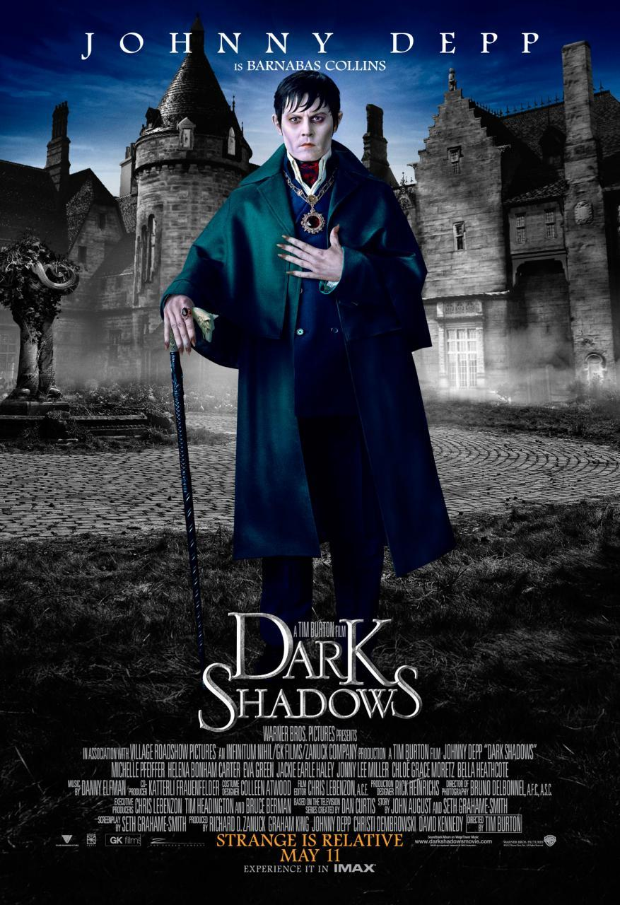 Johnny Depp as Barnabas Collins in Tim Burton's Dark Shadows