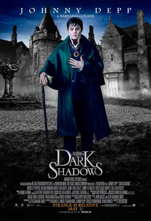 bohemea:  Johnny Depp as Barnabas Collins in Tim Burton's Dark Shadows