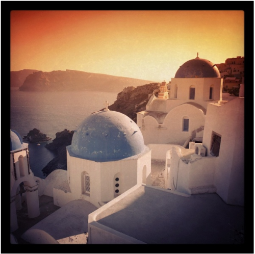 Today, I am dreaming of a Mediterranean sunset. When should we go?  (via)