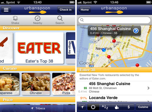 Eater 38s from across the Eater universe are now available in the new Urbanspoon 2.0 for iOS (App Store link).