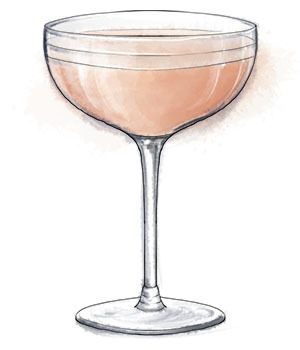Lillet rose and the tale of the lucky shag