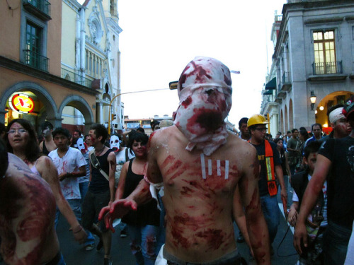 Costalado by mejia on Flickr.ZOMBIE WALK XALAPA 2012