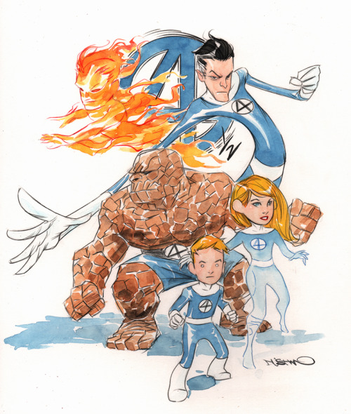 duss005:  Fantastic Four For a Fantastic Friend.