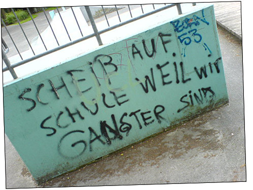 88hiphop:  Fuck Off School Because We Are Gangsters…or so