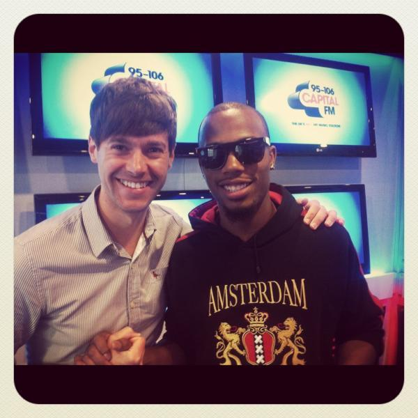 ~B.o.B at Capital FM with Rich Clarke~