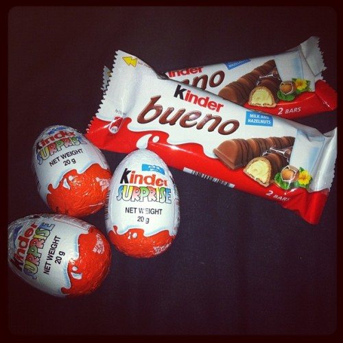 My favorite chocolate!!😁 #kinder #chocolate #food #candy #love #delicious #eggs #gothenburg #instamood  (Taken with instagram)