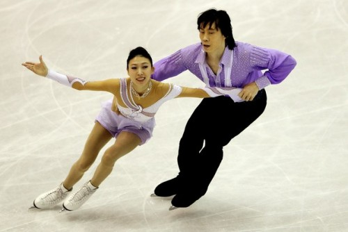 Pang Qing and Tong Jian in the SP during 2012 World Championships