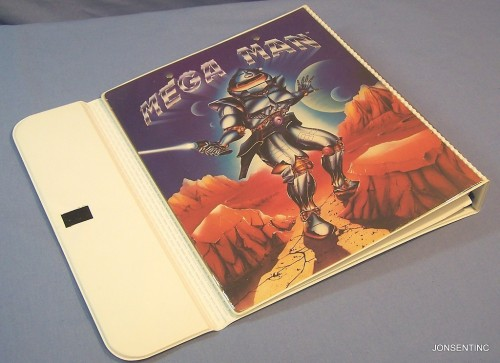 Mega Man? Trapper Keeper.