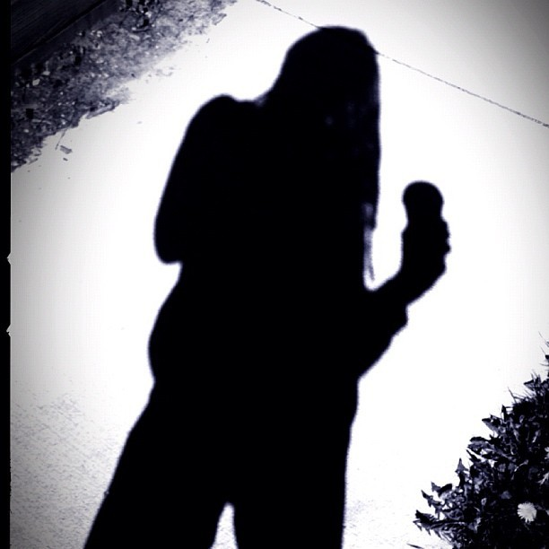 '#TALLTHINMAN Gets His Coffee And Is Happy' - #iphoneography #apps #shadow #cameragenius  (Taken with instagram)