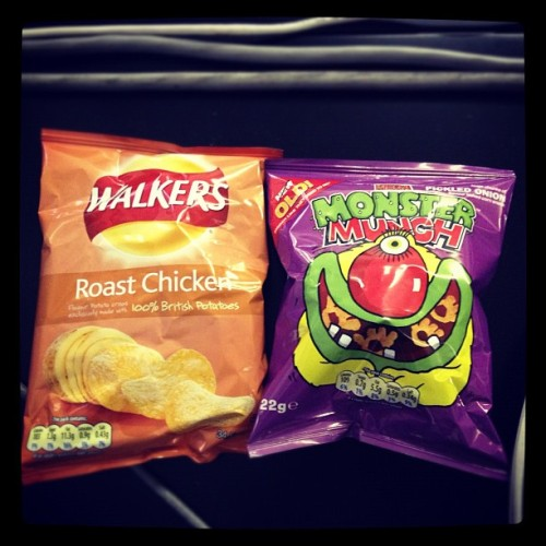 British crisps @ Agentry. (Taken with instagram)