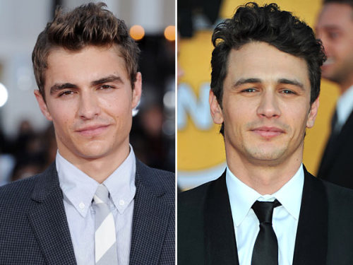 Had no idea they were brothers. But I can so see it now. Dave Franco [From 21 Jump St.] and James Franco [127 Hours]