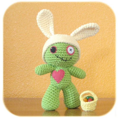 "Zombie says… ""Hoppy Easter!"""