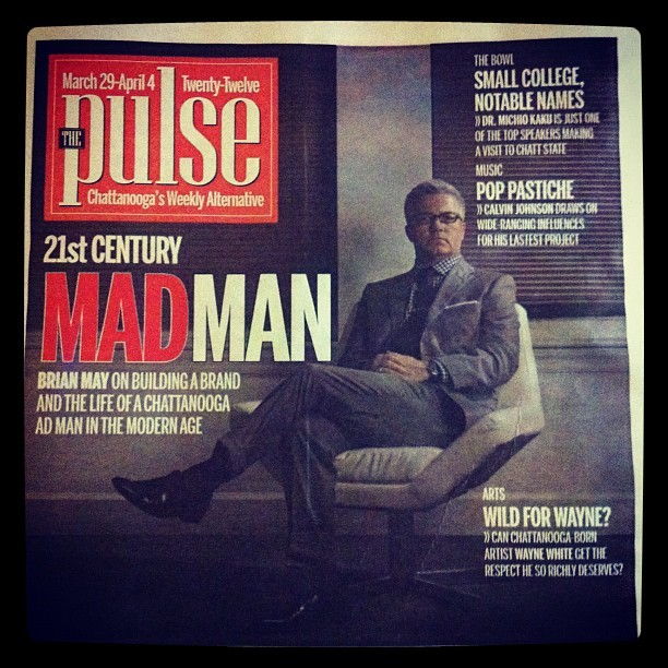 My first cover shot for The Pulse #media #photography #chattanooga (Taken with instagram)