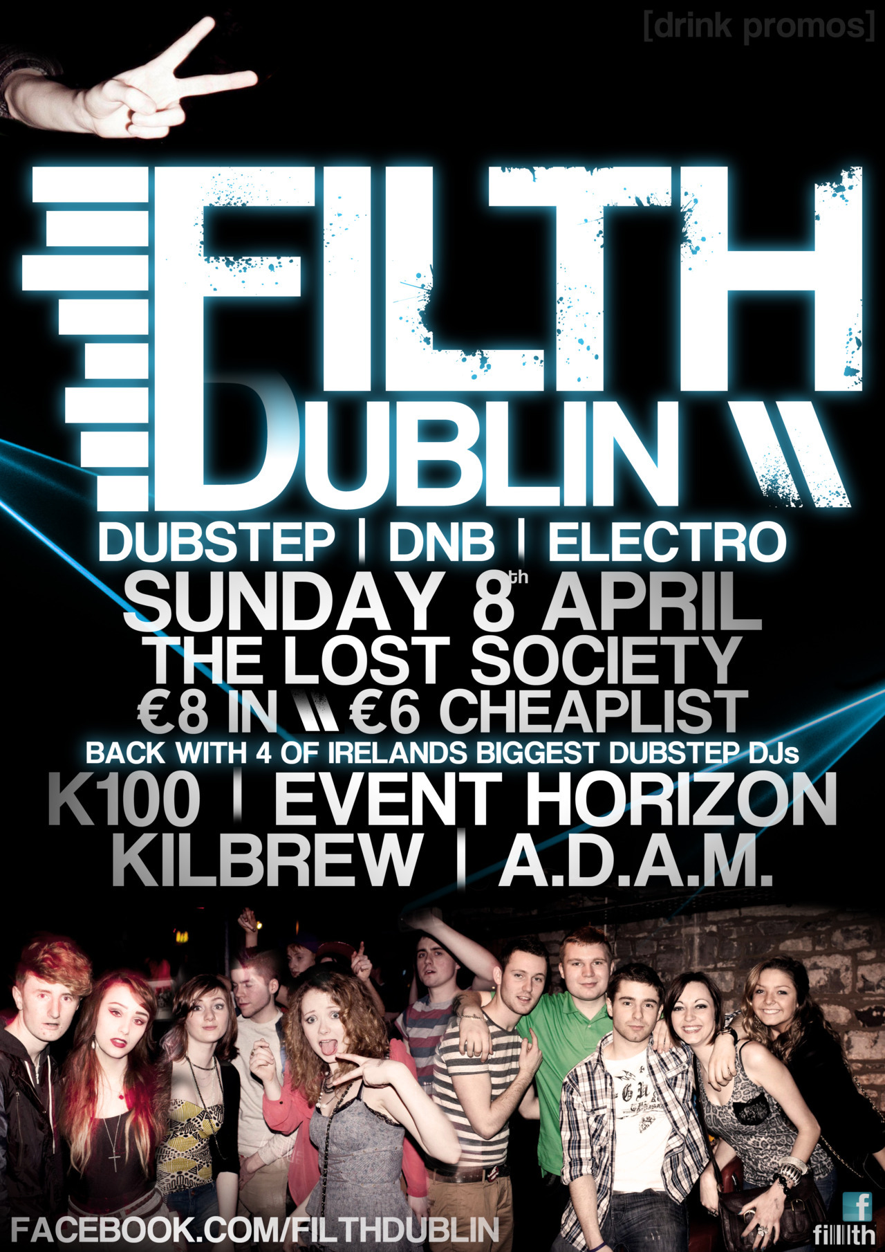 Newest Filth Dublin promo graphic, and this time it's on Easter Sunday :D As with the last one the photographs used are by Daniel Siberry (who i used to share a tumblr with), so if you wanna get in the next poster head on down and be all attractive and stuff at him. Check out the event page here for cheaplist, and the Filth Dublin page here for other news as well as some recorded mixes and original tunes by the resident DJs. Yum. Dillon