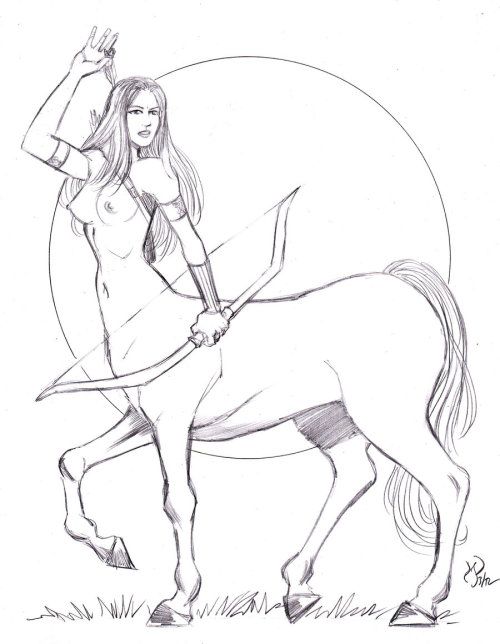 Centaur Archer by *powguero