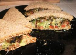 Avocado Vegan Sandwich Here is the Link to Youtube that I made a long time ago.  http://youtu.be/dKJUf-063VE