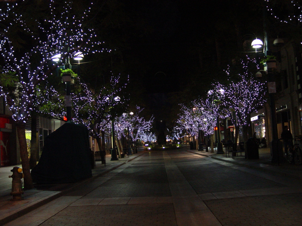 Third Street Promenade After Midnight