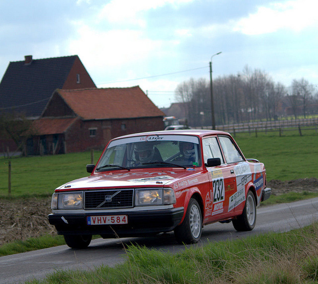 Rallysprint Moorslede 2012 by Radio Brouwer Rally on Flickr.Volvo 242