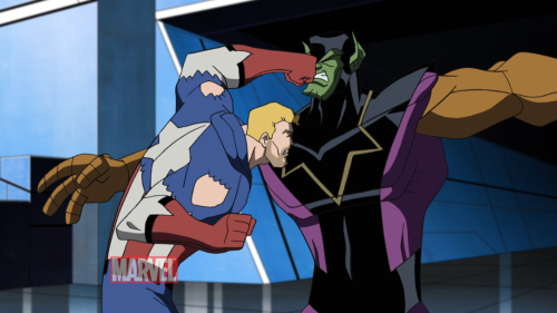 Screengrab from Avengers: Earth's Mightiest Heroes Season 2 trailer.