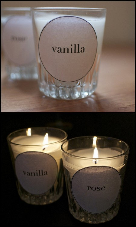 DIY  Diptyque Inspired Candles. Super easy tutorial from a pair & a spare here. If you'd like to make candles here are two other easy ones I've posted: DIY Beautiful Teacup candles with pink wax here. DIY Simple Beeswax candles here.