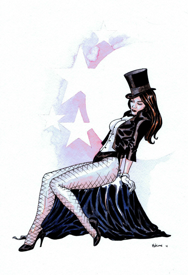 midtowncomics:  Zatanna by Mike McKone