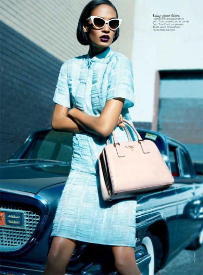 fuckyeahfashionjunkie:  Joan Smalls for Vogue AUS April 2012 ♥