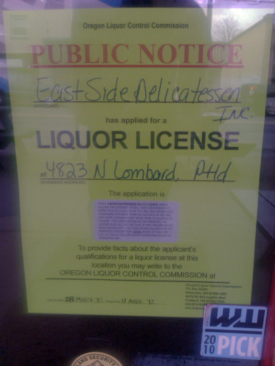Lombard is getting beer soon!