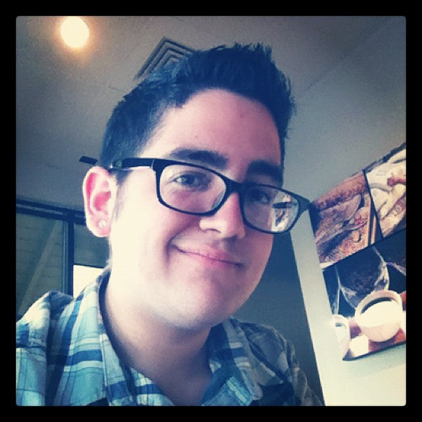 I got my #hair #cut. 😁 #haircut #gay #boy #glasses #instagram #selfportrait #self #me #portrait #portuguese (Taken with instagram)