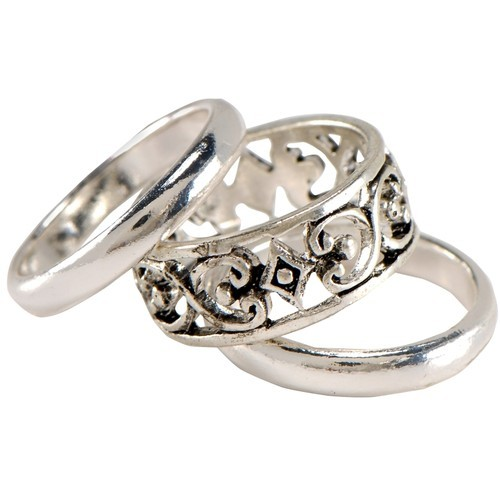 Stack Silver Rings 3-pack