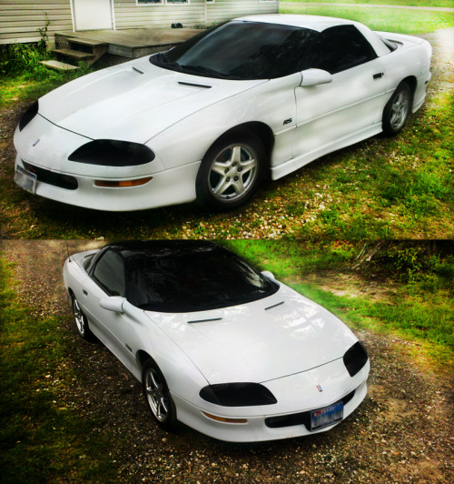 my 97 Camaro RS and my dad's 94 Camaro Z28.