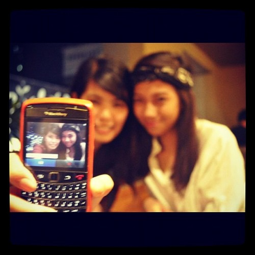 With #rachella :))  (Taken with Instagram at Coffee Bean and Tea Leaf, Archer's Nook)