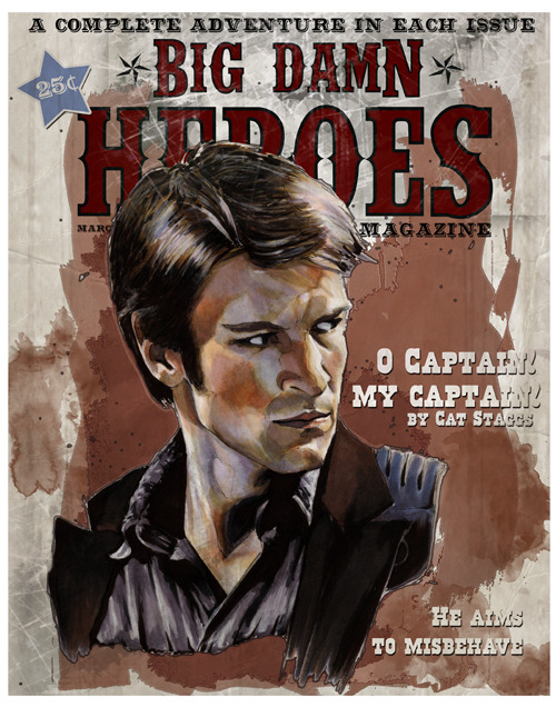 geeksngamers:  Big Damn Heroes - by Cat Skaggs