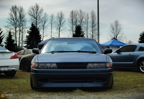 tangyphilms:  Nissan Fest 2012Sooooooper clean S13. That rhymed!More coverage from Nissan Fest coming up, Follow me to keep up.