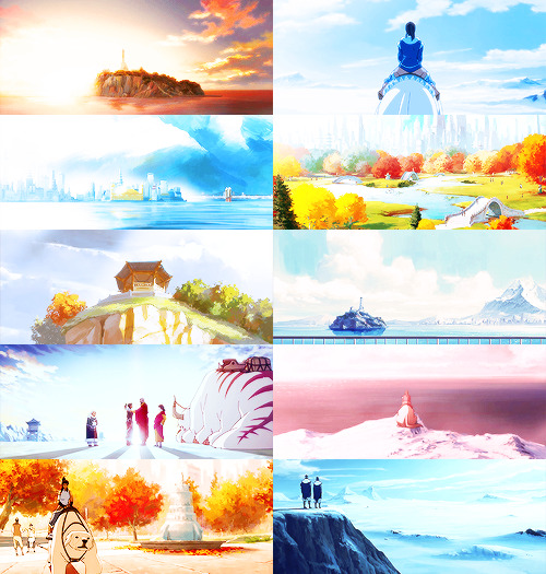 oma-shu:  the legend of korra: scenery porn (light)