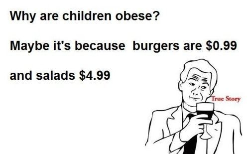 they want us to be healthy, but they lower the price for junk food..for real…i'm trying to make a living and you go ahead and do THIS!?