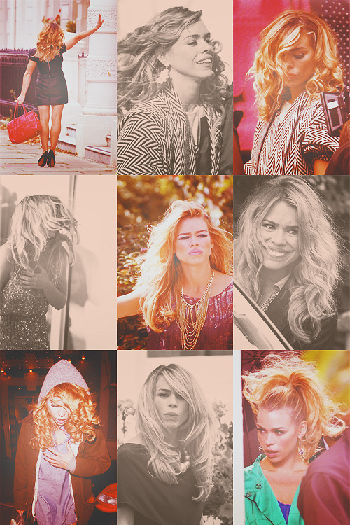 orbitingasupernova:  billie piper and the curse of the hairlords - on set for sdoacg s4