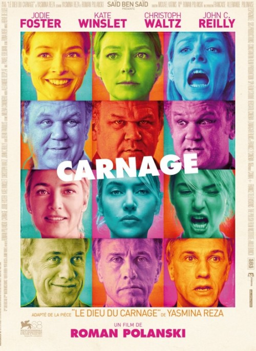 Carnage (2011) I was pretty immediately interested in this film when I found out it was directed by Roman Polanski, and stars four great actors: Jodie Foster, Kate Winslet, John C. Reilly and Christoph Waltz. And that's pretty much what the film is - those actors in a room. They were all fantastic and were a lot of fun to watch. The catalyst for these people meeting is, the child of Foster and Reilly's characters has been involved in a fight with the child of Winslet and Waltz's characters. Pretty soon, though, their discussions and arguments become much more about themselves and each other than their children. I enjoyed it, for the most part. I think it got a little silly and over the top in the second half, but it was still entertaining. The ending was pretty lacking too. It was far from perfectly executed, but it was a short, amusing film with a few nice little insights into married couples.