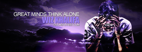 Wiz Khalifa Great Minds Facebook Cover