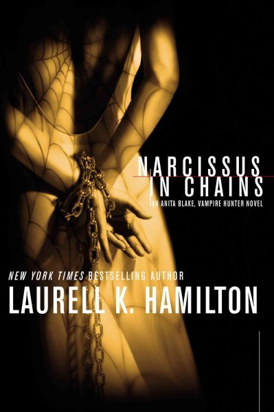 Original cover for 'Narcissus in Chains' … much more intense in my opinion but I might just like it because it features the dress detail.