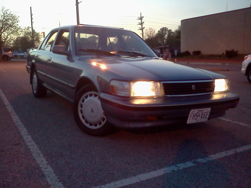 after 6 months, about 350$, and a new cylinder head, my free cressida is finally licensed and on the road. drove it for literally 2 1/2 hours straight earlier tonight and didnt have a problem whatsoever.  already in love with this car.