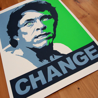 Shepard Fairey/Bill Bixby/Hulk Mashup Hell. Yes.