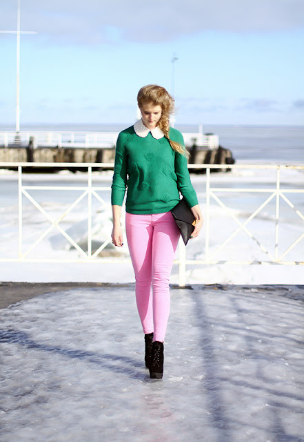 I just love Color Blocking! -xoxo The Dyslexic Blogger